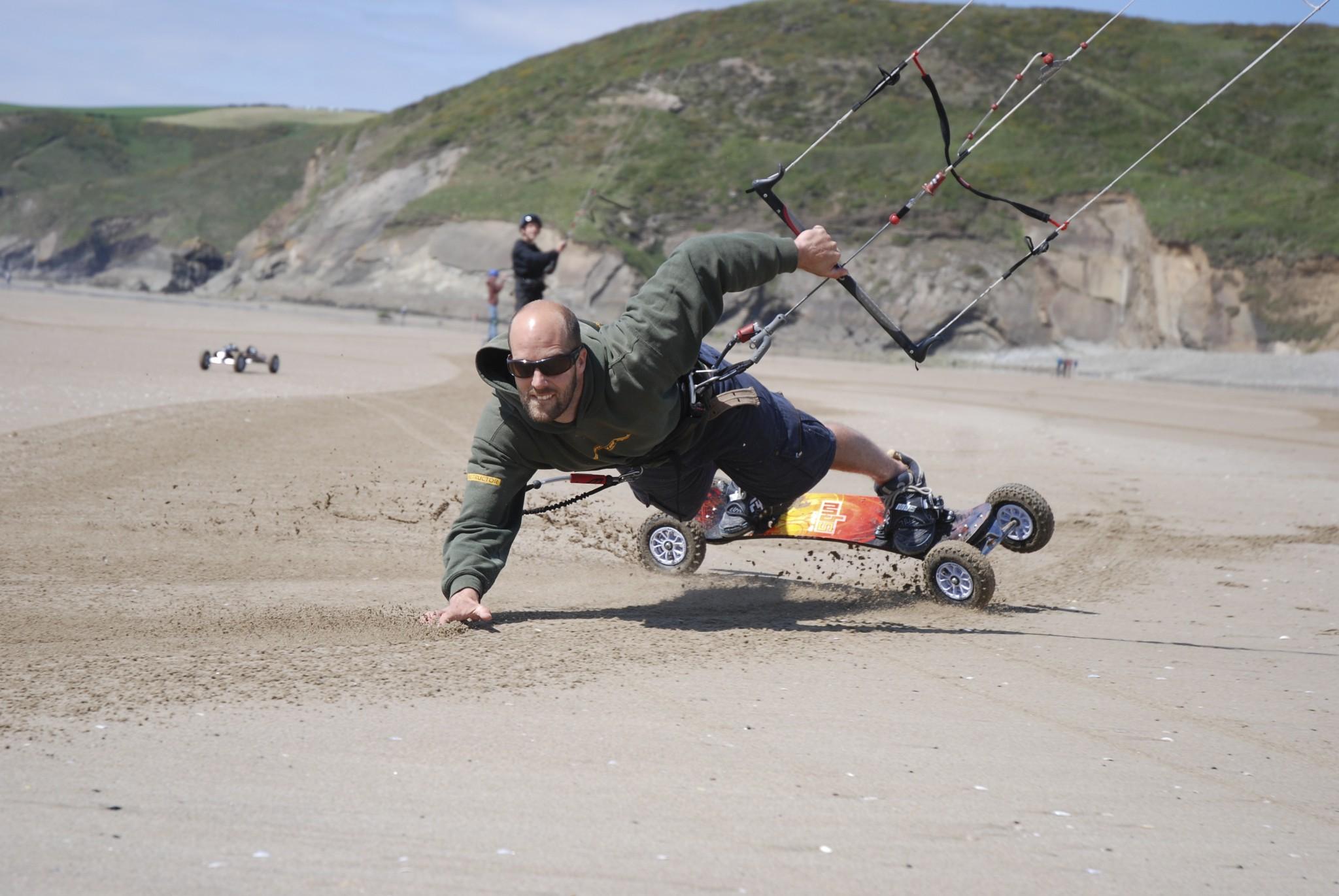 Kite Landboarding Pembrokeshire