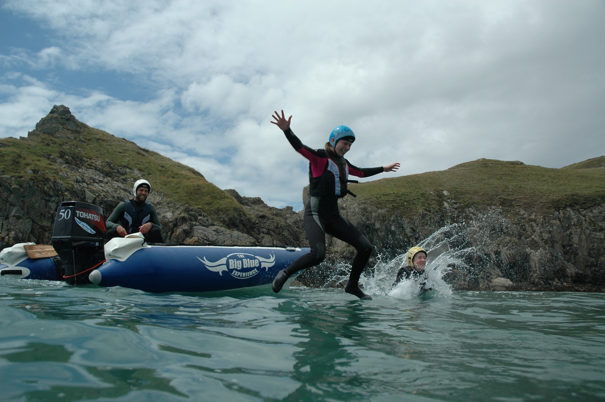 Coasteering by boat