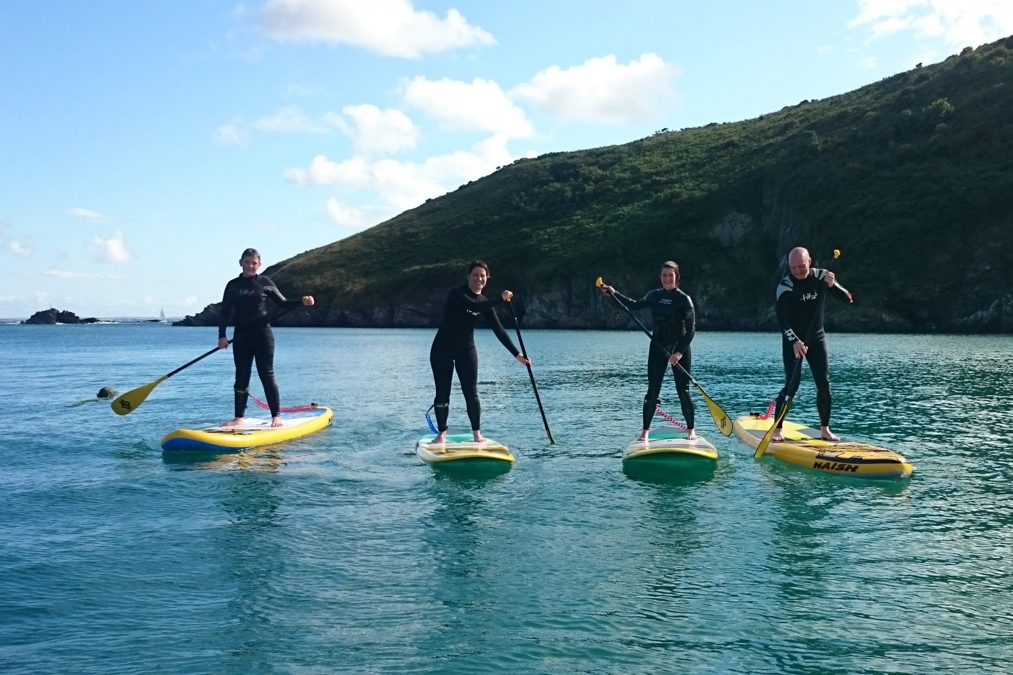 SUP Lessons Pembrokeshire