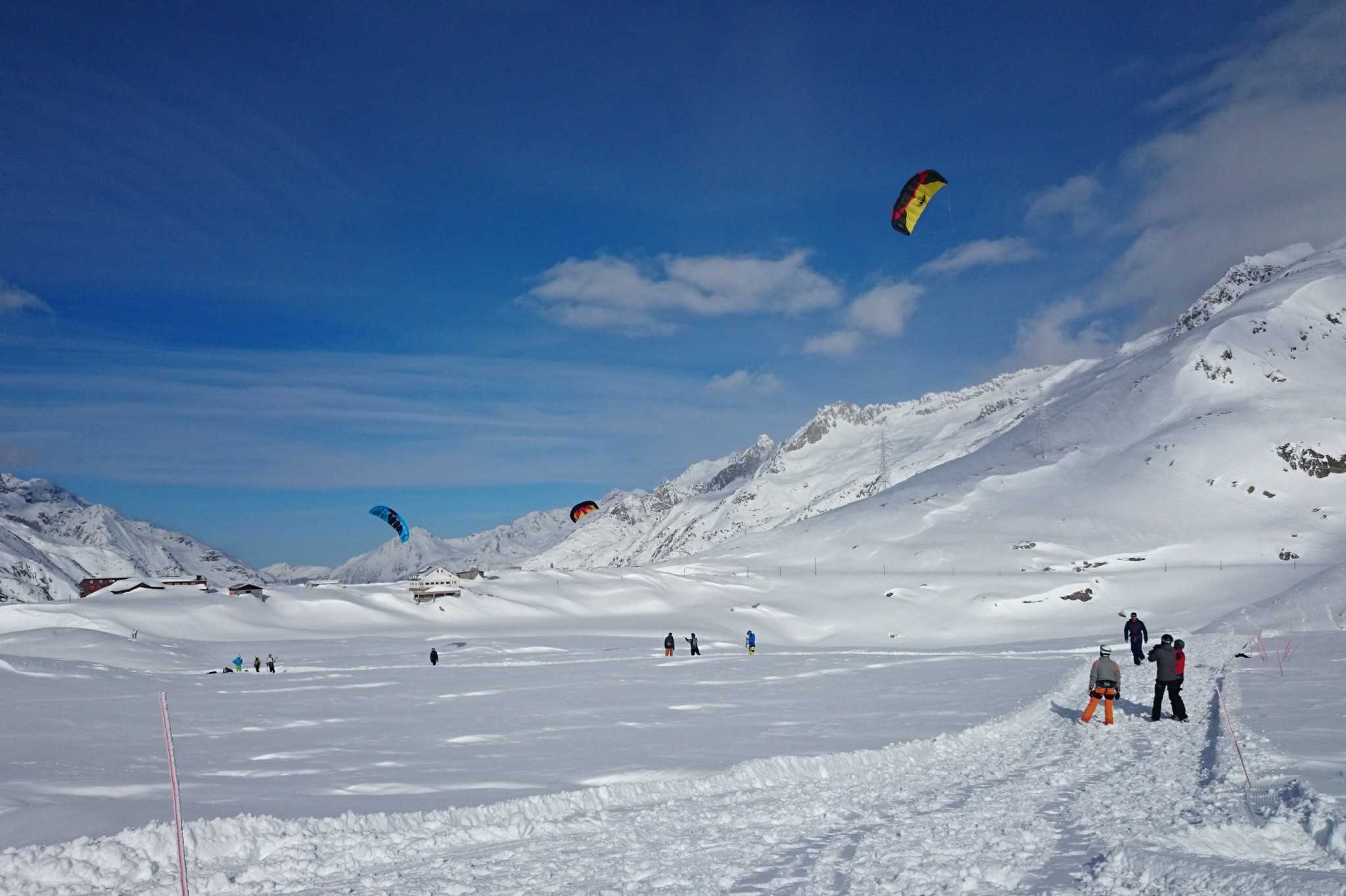 Snowkiting holidays 1