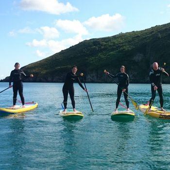 Pembrokeshire SUP Holidays Menu