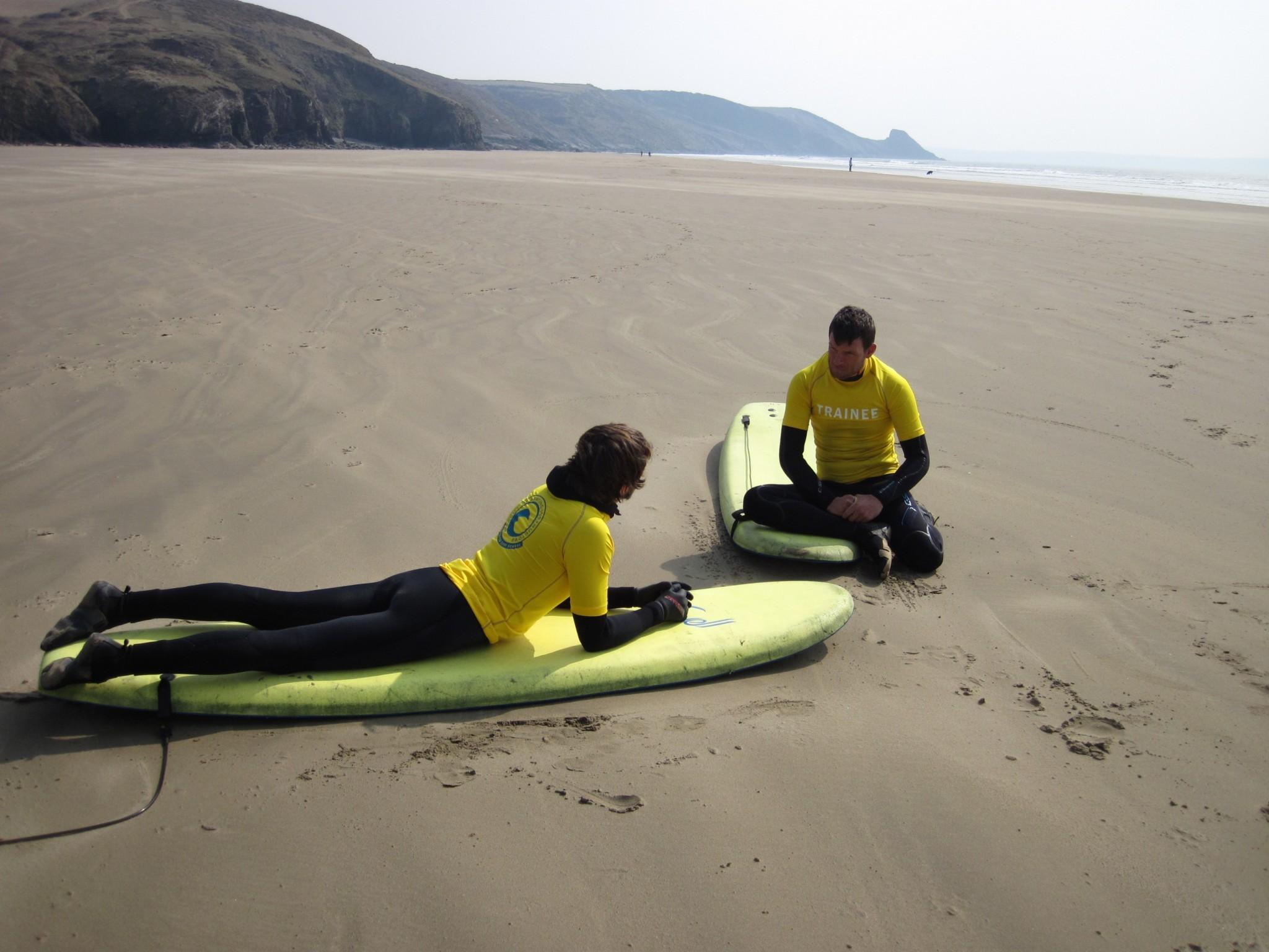 SLSGB Beach Lifeguard Course