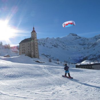Snow Kiting Course button