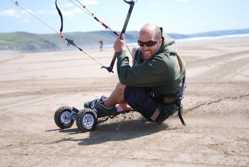 Kite landboarding Courses
