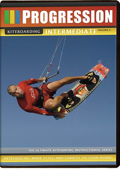 Progression Kiteboarding DVD - Intermediate Volume 2