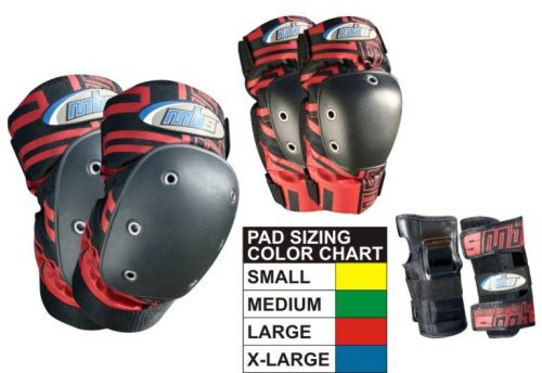MBS Pro Pads Tri Pack