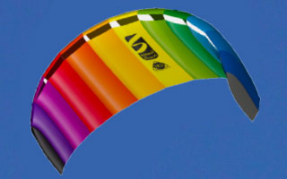 HQ Kites - 1.8m Rainbow Sport Kite