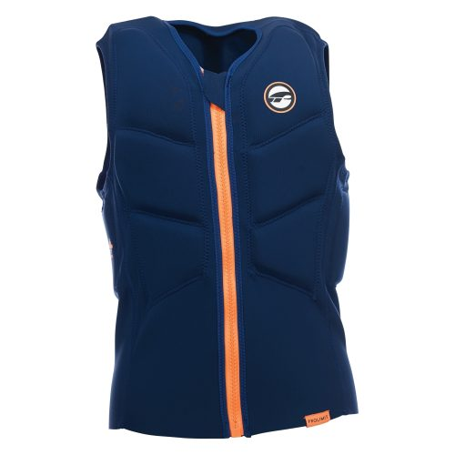 Prolimit Stretch Impact Vest Half Padded Front Zip